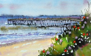 Fishing Pier, Meg Rubino