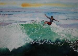 Surfer, Meg Rubino