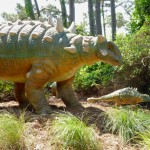 dinosaurs roam roanoke island!