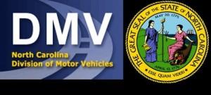 NCDMV logo.