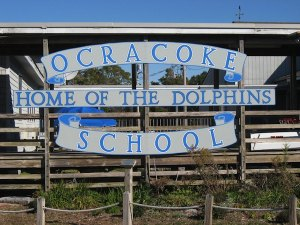 Ocracoke school--K-12 serving the Island's community for generations.