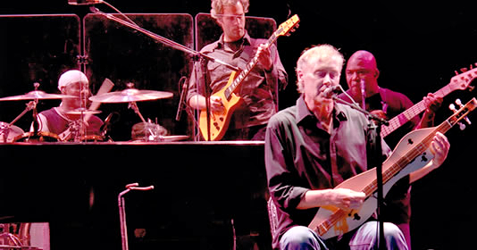 Bruce Hornsby and the Noisemakers coming June 26.