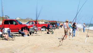Beach driving and fishing.  The NCBBA has been instrumental in keeping Outer Banks beaches open. Photo, My Outer Banks Home.