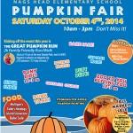 nh elementary pumpkin fair is october 4th!