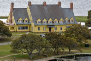 The Whalehead Club in Corolla, one of the fall attraction on the Outer Banks.