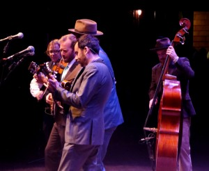 Steep Canyon Rangers in performance at the 3rd Annual Outer Banks Bluegrass Festival.