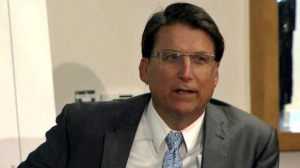 Governor McCrory responding to questions about a meeting excluding the public from discussions about offshore drilling. From WRAL
