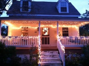 Ocracoke dresses up for the holidays. Photo courtesy of Ocracoke Current