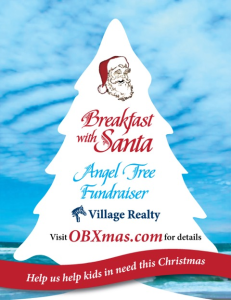 The annual Breakfast with Santa event is on Sunday 7 December, 9am-1pm.