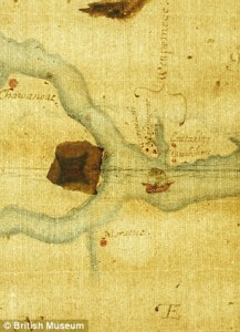 map of lost colony