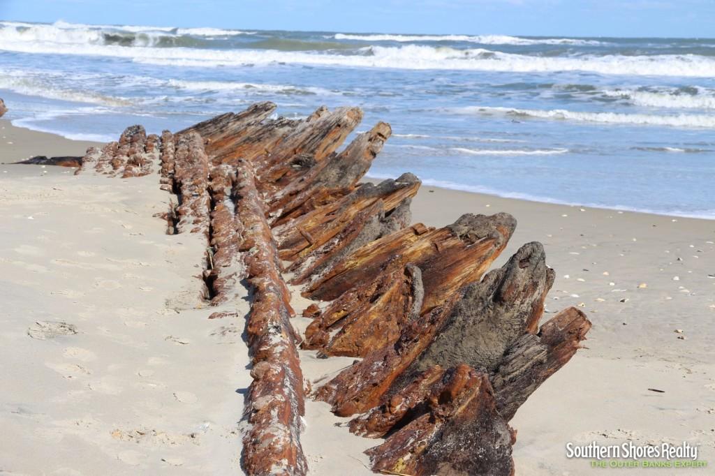 Shipwreck Surfaces On Corolla Beach Hidden Outer Banks