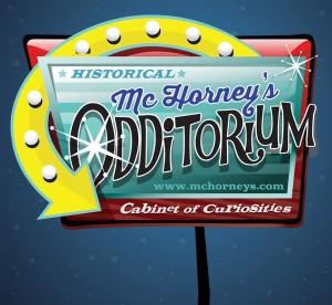 McHorney's Odditorium sign