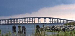 the aging Bonner Bridge