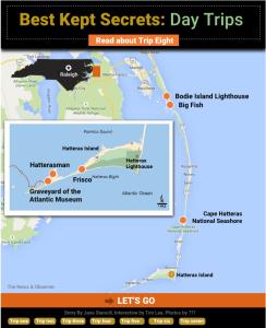 news & observer map