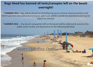 list of nags head beach rules
