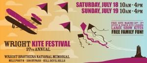 wright kite festival ad