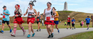 The Flying Pirate Half Marathon. One of many events that contribute to the OBRF. April 16, 17 this year.