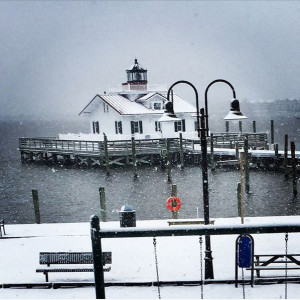 Manteo waterfront. Photo, Maria Williamson of the Avenue Grille