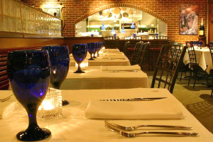 The dining room at Ocean Boulevard in Kitty Hawk. Great food, live music on Friday nights.