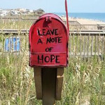 red mailbox of hope is spreading joy to PA
