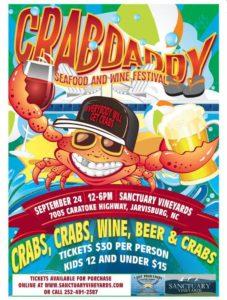 crabdaddy poster