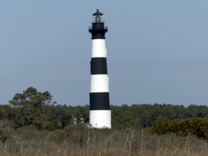 Standing sentry over Oregon Inlet. Bodie Island Lighthouse. Photo, Kip Tabb.