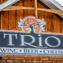 trio = wine + beer + cheese + music + more