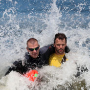 secret service train in obx waters