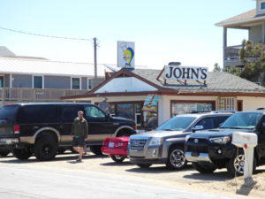 There's always as line at John's Drive-in but it's worth the wait.