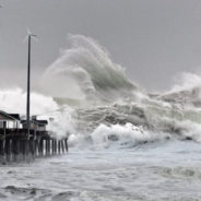 30′ wave attacked jennette's pier? NOPE