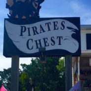 ocracoke firefighters save pirate's chest!