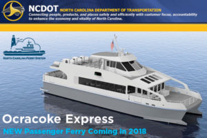 Passenger Ferry Service should be available by summer, according to NCDOT.