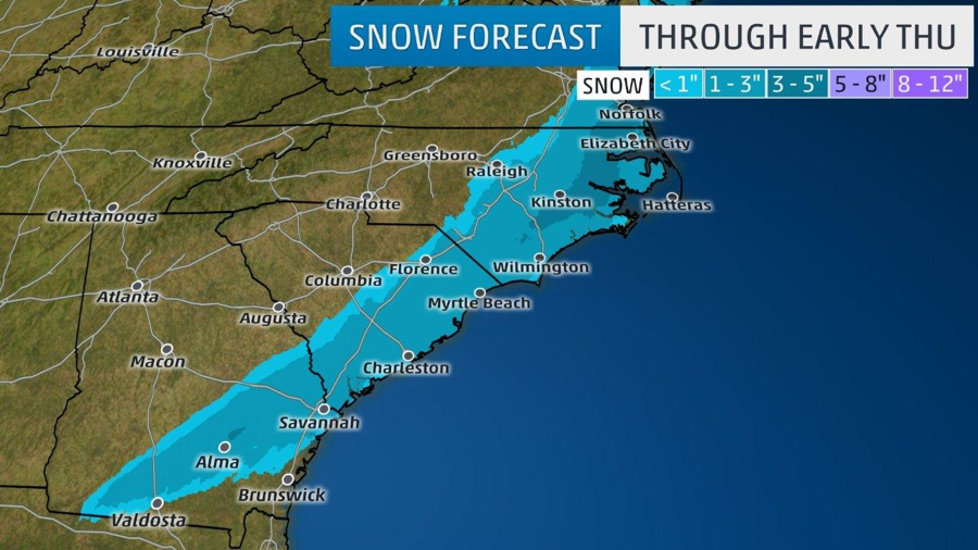 old man winter brings snow, cold to obx | Hidden Outer Banks
